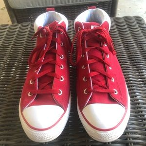 Converse All Star high top sneakers size 12.